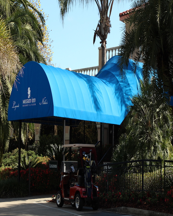 Blue Awning - Awnclean